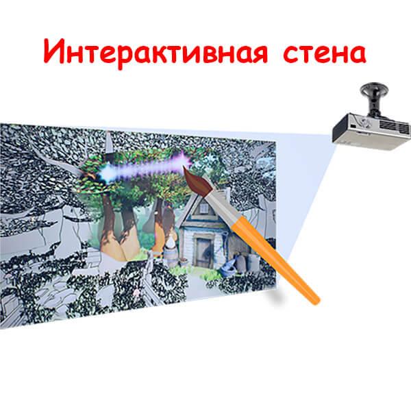 Интерактивная стена «Мастер Фломастер».