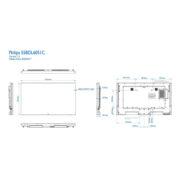 Интерактивная панель PHILIPS 55BDL6051C/00 — схема