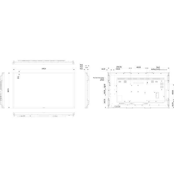 Интерактивная панель PHILIPS 65BDL3052T/00 — 65″