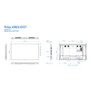 65BDL3552T/00 Philips Дисплей Multi-Touch