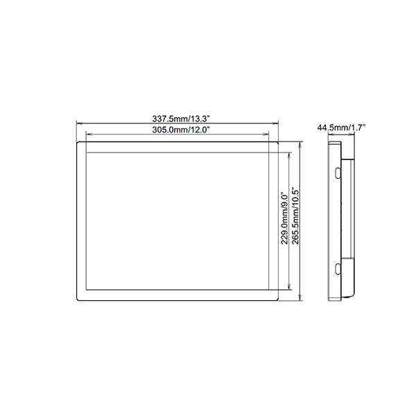 Схема интерактивной панели iiyama ProLite TF1534MC-B6X — 15″