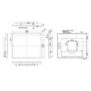 Схема интерактивной панели iiyama ProLite TF1734MC — 17″