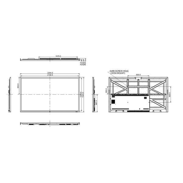 Интерактивная панель iiyama PROLITE TE9803MIS-B1AG — схема