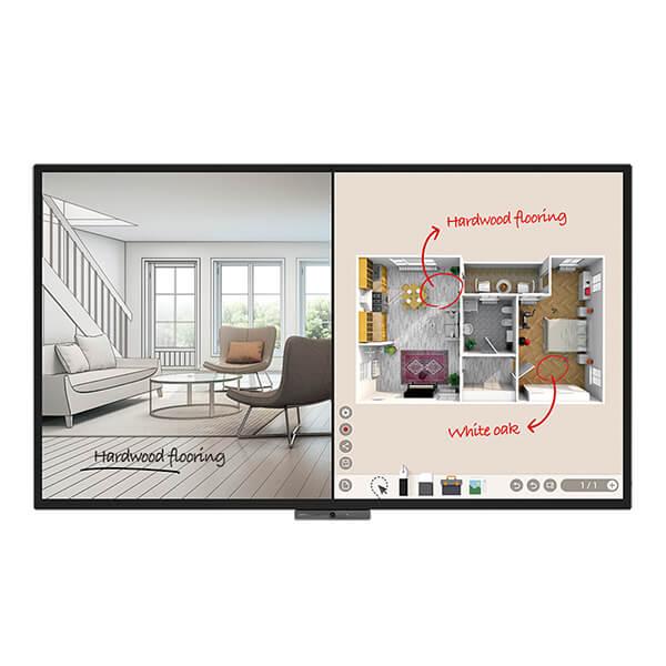 Корпоративная интерактивная панель BenQ DuoBoard CP8601K