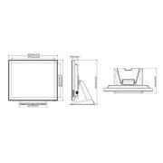 Интерактивная панель iiyama PROLITE T1932MSC-W5AG — схема