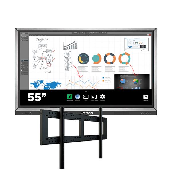 Комплект для школы № 3. Интерактивная панель 55″ со встроенным компьютером.