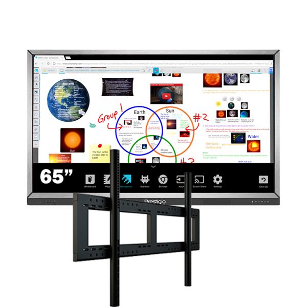 Комплект для школы № 5. Интерактивная панель 65″ со встроенным компьютером
