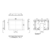 Схема интерактивной панели iiyama ProLite TF1015MC-B2 — 10″