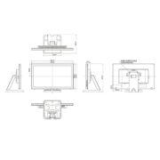Интерактивная панель iiyama ProLite T2336MSC-B2AG — схема
