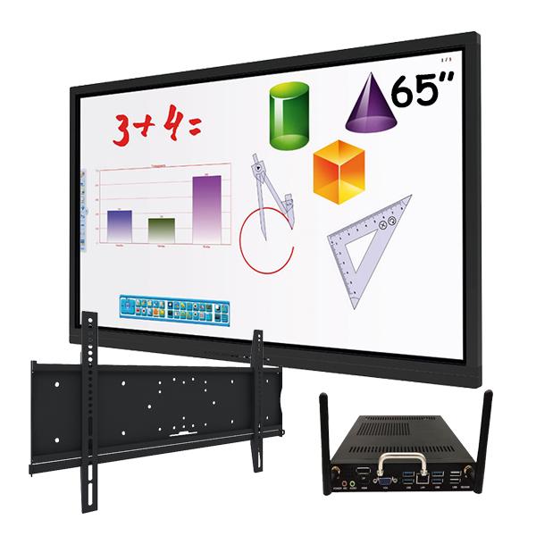 """Комплект для школы № 7. Интерактивная панель 65"""" со встроенным компьютером"""