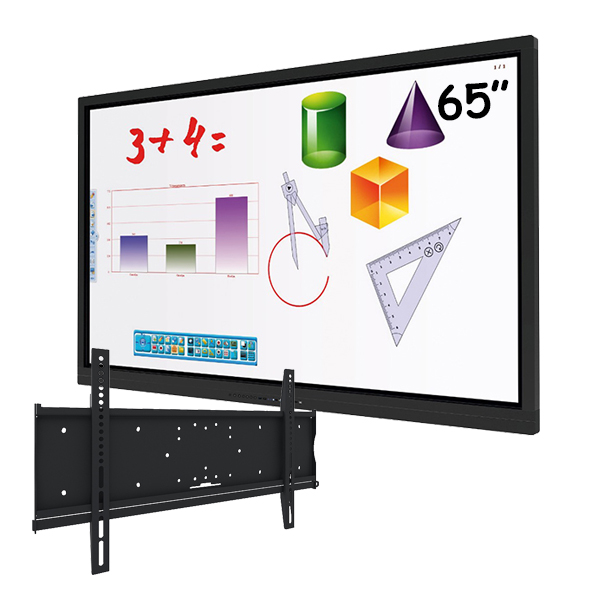 """Комплект для школы № 6. Интерактивная панель 65"""" со встроенным компьютером на Android."""