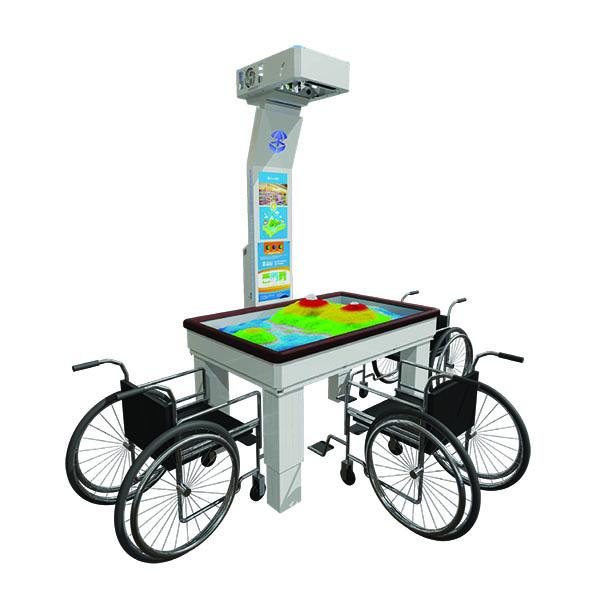 Интерактивная песочница iSandBOX Children's Hope для колясочников