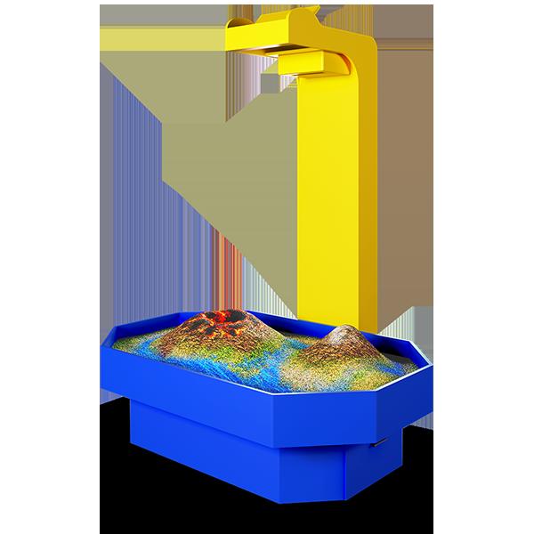 Интерактивная песочница «Алмаз»