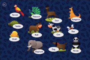Игра «Животные»