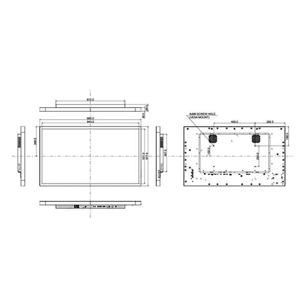 Интерактивная панель iiyama ProLite TF4339MSC-B1AG — 43″