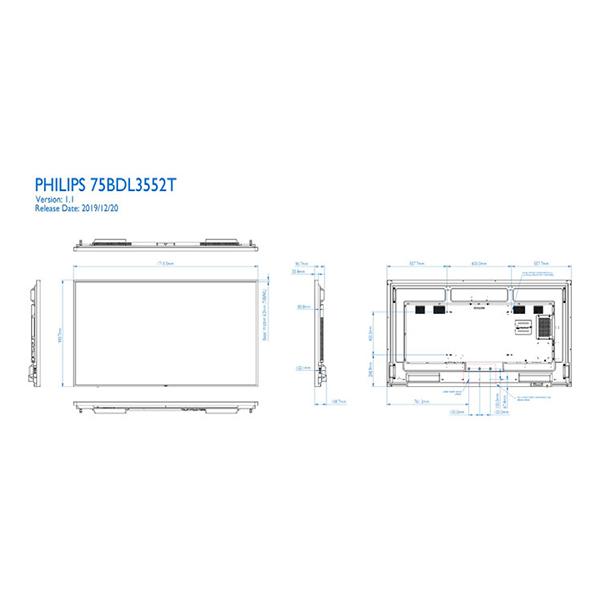 75BDL3552T/00 Philips Интерактивная доска