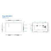 Интерактивная панель PHILIPS 86BDL8051C/00 — схема