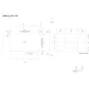 Инфракрасный сенсорный кооперационный дисплей NEC MultiSync® CB861Q — схема