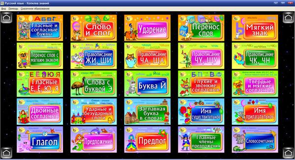 Блок 1. «Русский язык. 1 класс»