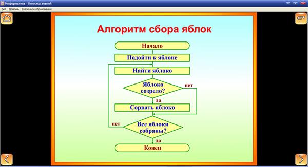 """Иллюстрация комплекта """"Информатика"""""""